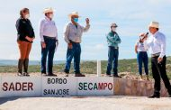 Invierte Gobierno 36.6 mdp en obras hidroagrícolas en tres municipios zacatecanos