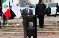 Dignifica gobierno de Zacatecas la actividad policial en la capital del estado.
