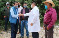 Realiza Gregorio Macias gira de trabajo porcomunidades de Mazapil.