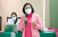 CDHEZ imparte capacitación al personal de servicio social del IMSS sobre el derecho a la salud.