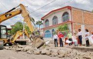 Sedesol y Ayuntamiento mejoran vialidades de Juchipila