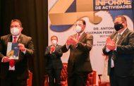 Refrenda Gobernador reconocimiento y compromiso a la benemérita Universidad Autónoma de Zacatecas
