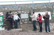 Cumple Alejandro Tello a productores de Pinos con la construcción de presa y apoyos del seguro agrícola