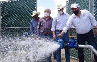 Ejecutan obras hídricas en Francisco R. Murguía y Cañitas