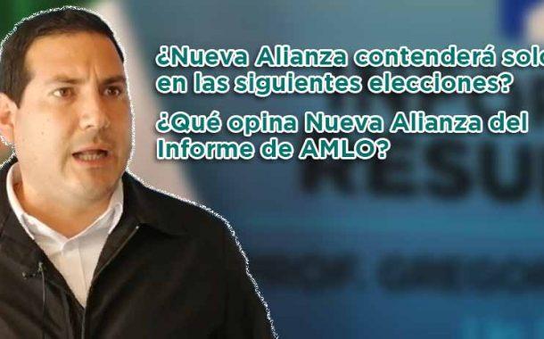 ¿Nueva Alianza contenderá solo en las siguientes elecciones? (video)