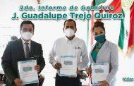 2do. Informe de Gobierno de J. Guadalupe Trejo Quiroz