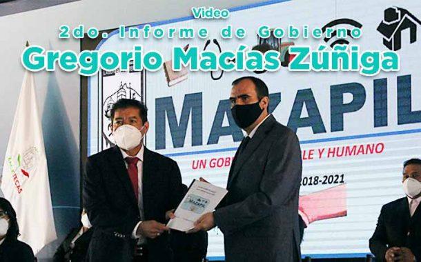 2do. Informe de Gobierno de Gregorio Macías Zúñiga(video)