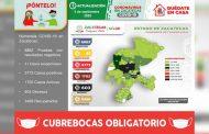 Registra Zacatecas 77 nuevos casos de COVID-19 en las últimas 24 horas