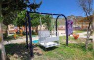 Beneficia Sedif a niñas y niños de Melchor Ocampo al entregarles un parque inclusivo