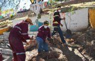 Supervisa Julio César Chávez jornada de limpieza en La Purísima