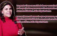 Las mujeres sabemos lo que queremos, es nuestra oportunidad de oro para incursionar en la política: Julia Olguín Serna (Video)