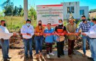Supervisa Roberto Luévano obras sociales en el sur de Zacatecas