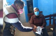 Distribuye Pensión para el Bienestar apoyos directos a 2 mil 849 adultos mayores de siete municipios