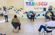 Gobierno de Tello entrega apoyos a cooperativa de pescadores de la presa El Chique