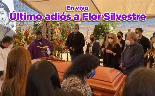 El último adiós a Flor Silvestre