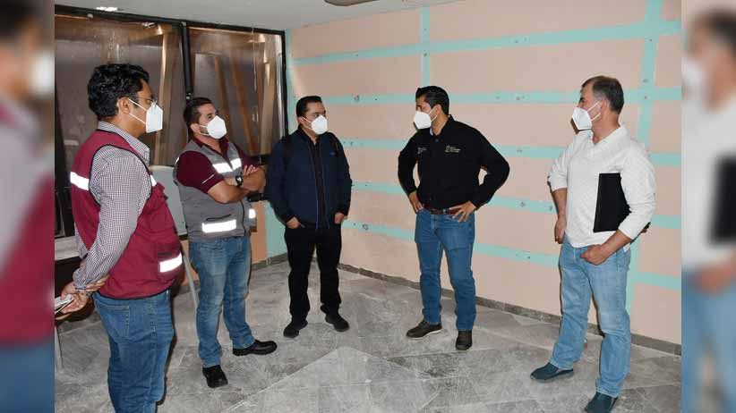 Modernizan oficinas de la presidencia municipal de Guadalupe