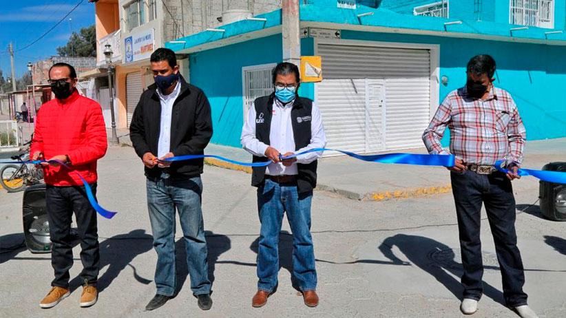 Entrega Gobierno de Zacatecas drenaje en comunidad de Calera