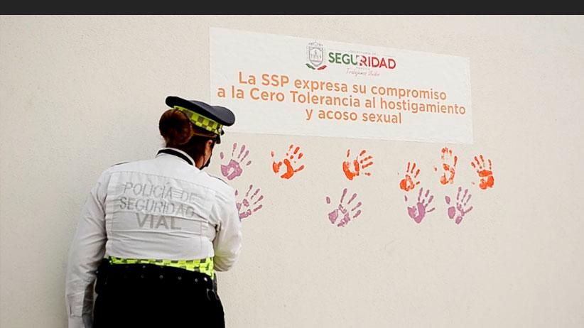 En Secretaría de Seguridad Pública, cero tolerancia al acoso y hostigamiento sexual