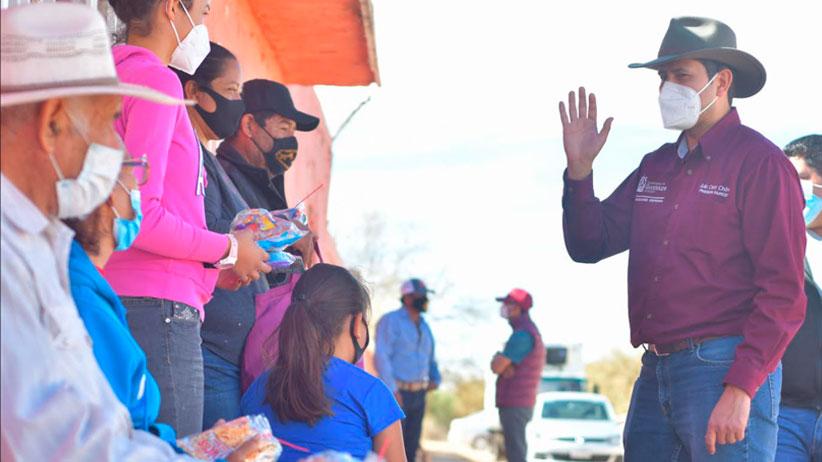 También a las comunidades llevamos un mensaje de esperanza: Julio César Chávez