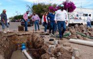 Gobierno de Tello rehabilita sistemas de agua potable para Tlaltenango y Santa María de la Paz