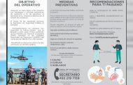 Secretaría de Seguridad Pública arrancó Operación Paisano Seguro