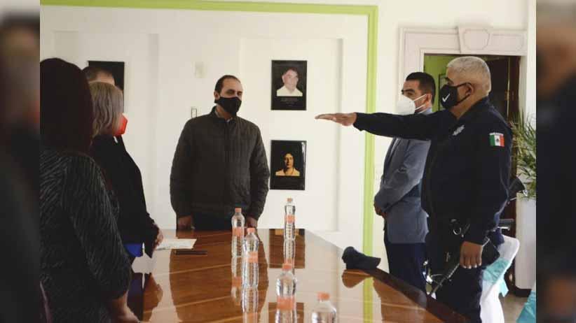 Designan Director de Seguridad Pública Municipal de Felipe Pescador