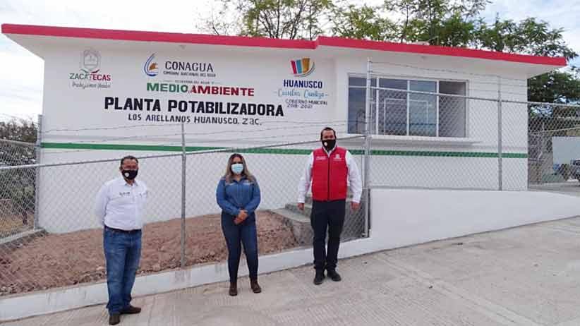 Construyen obras para optimizar el servicio de agua en Huanusco