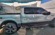 Asegura SSP vehículo de presunto grupo delincuencial, en Loreto