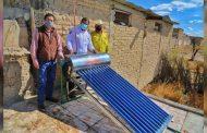 Lleva Gobierno de Zacatecas calentadores solares a población vulnerable de Mazapil