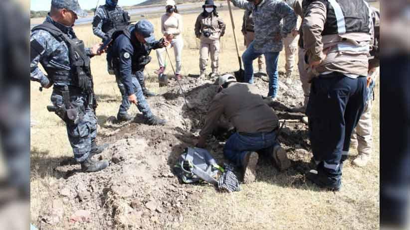 Comisión de búsqueda y colectivos realizan trabajos de localización en Nochistlán