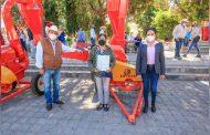 Fortalecen las actividades agropecuarias de Noria de Ángeles con 7.6 mdp