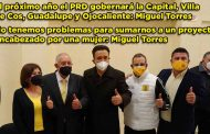 El próximo año el PRD gobernará la Capital, Villa de Cos, Guadalupe y Ojocaliente: Miguel Torres (Video)