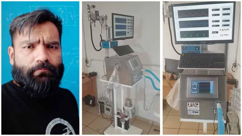 Listo primer ventilador clínico desarrollado en Zacatecas para atender pacientes con Covid-19