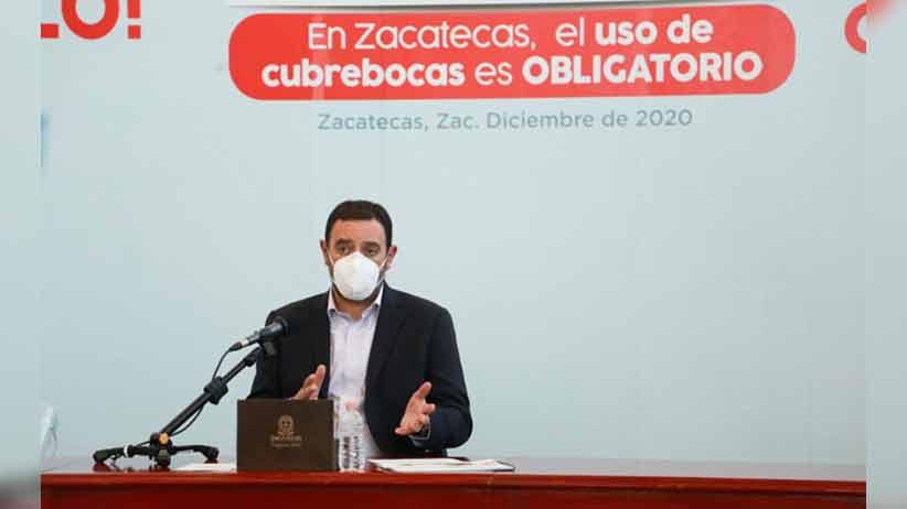 Continúa Zacatecas en semáforo rojo; se emitirán nuevas medidas sanitarias el miércoles