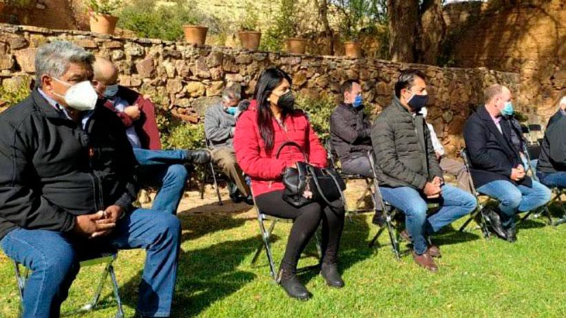 Vamos en la misma ruta: Apoyar a David Monreal, dicen empresarios y líderes políticos y sociales de Tlaltenango