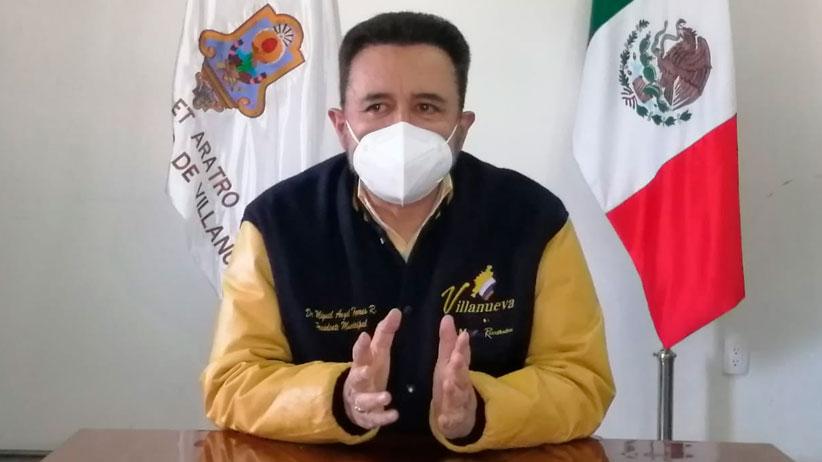 Reconoce Miguel Torres, esfuerzos de migrantes villanovenses