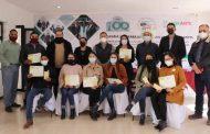 Reciben Becas 2x1 estudiantes de Cañitas y Cuauhtémoc