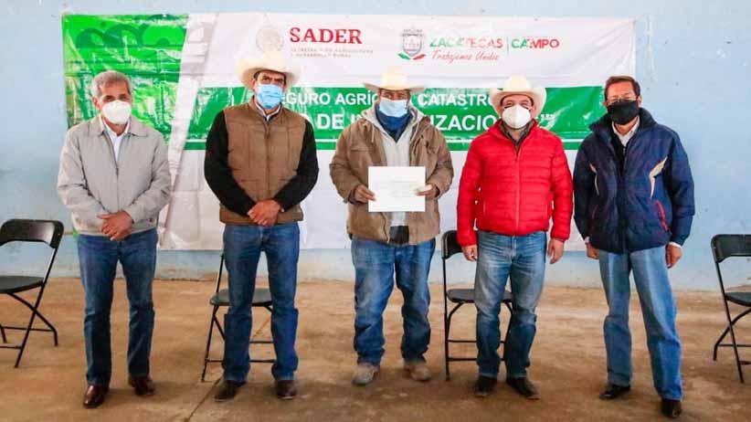 Beneficia SECAMPO a más de 850 productores con Seguro Agrícola Catastrófico