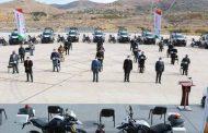 Fortalece Alejandro Tello a corporaciones de seguridad del territorio zacatecano