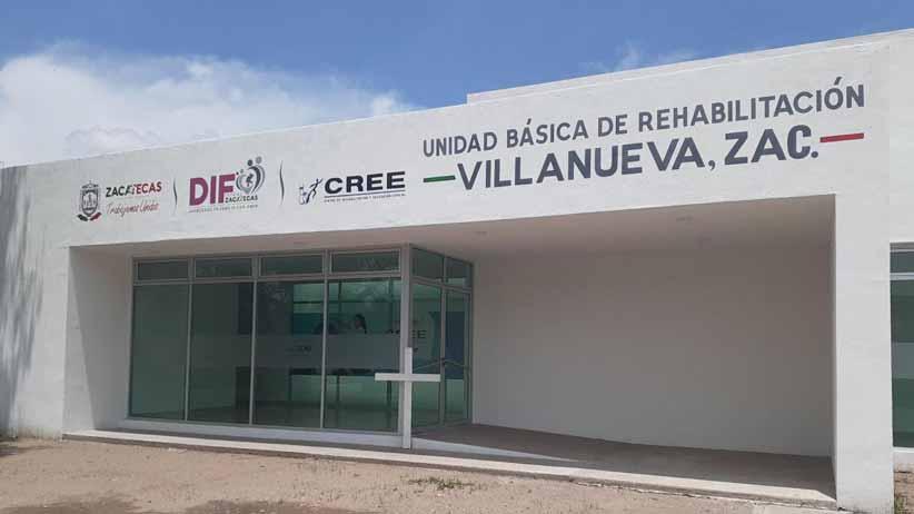 Concluye Gobierno de Tello Unidad Básica de Rehabilitación de Villanueva