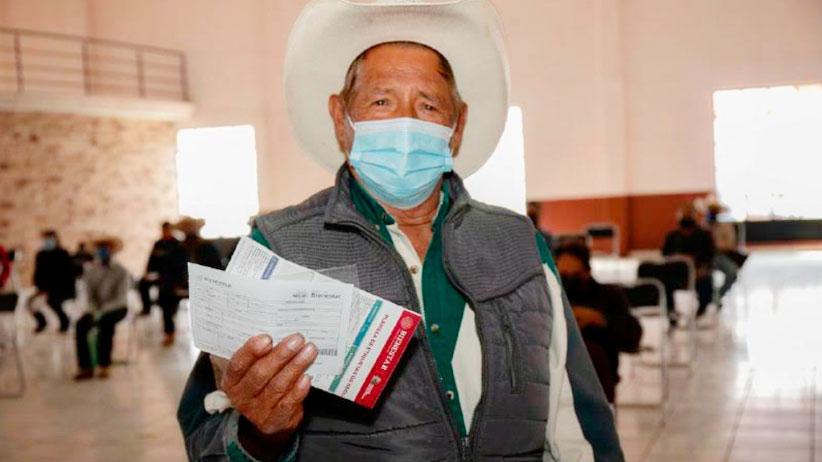 A casi un año del inicio de la pandemia, la Pensión para el Bienestar no ha dejado de llegar a los adultos mayores de Zacatecas: Verónica Díaz Robles