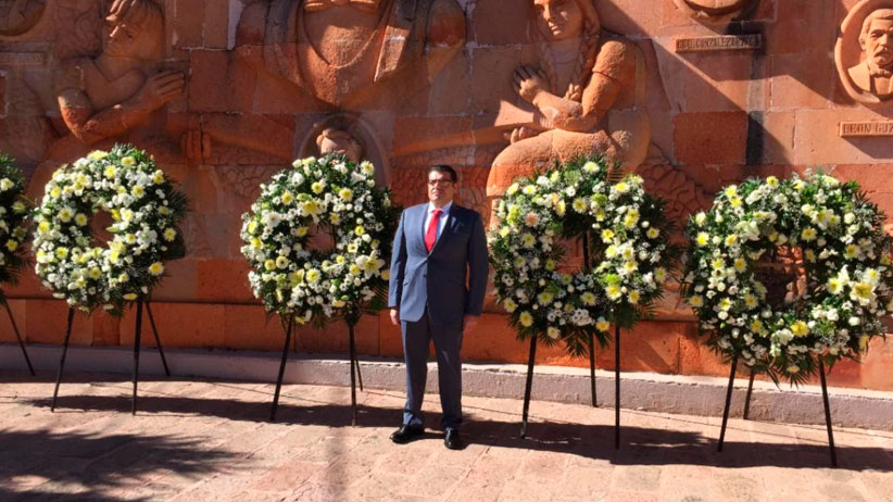 Conmemora Gobierno del Estado 104 aniversario de la Constitución Mexicana