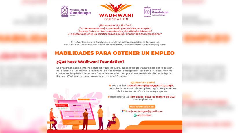 Fortalece Ayuntamiento competencias laborales de jóvenes guadalupenses