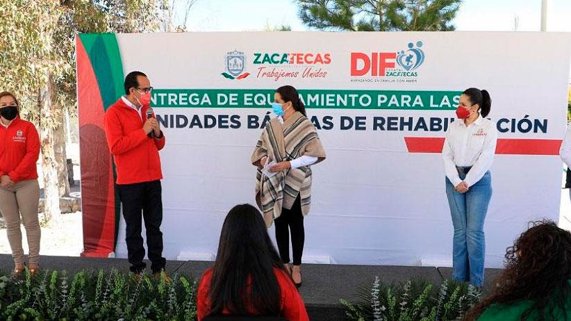 Apuesta Gobierno de Tello a la rehabilitación de las personas con discapacidad