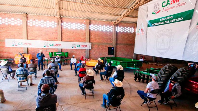 Fortalece Gobierno de Zacatecas la capacidad productiva en el semidesierto