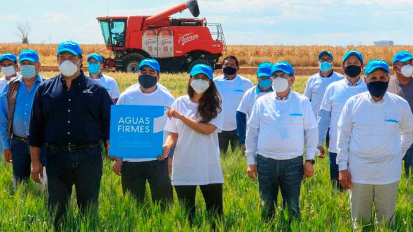 Cumple Tello con el Fondo de Agua para la sustentabilidad agrícola