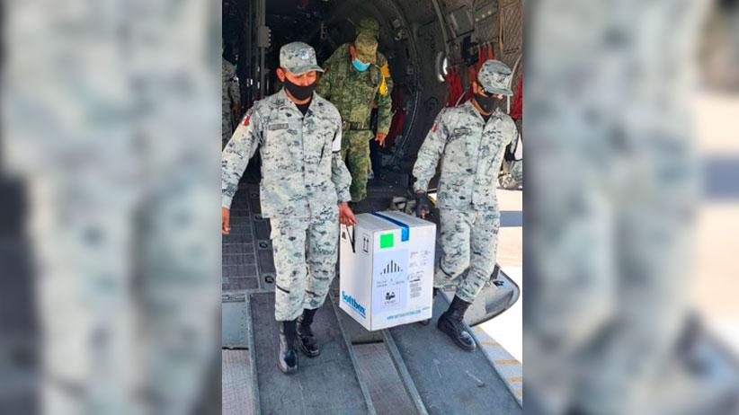 Llegan a Zacatecas 5 mil 850 dosis de vacunas Pzifer-BioNtech