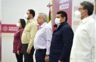 Pronto iniciará la construcción de la autopista Zacatecas-Aguascalientes; hice el compromiso y se va a cumplir, afirma primer mandatario