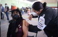 Avanza la aplicación de vacuna contra covid-19