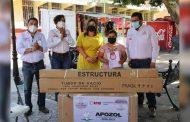 Reciben apoyos familias del cañón de Juchipila